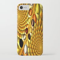 fractal iPhone & iPod Cases featuring Fractal by Digital-Art