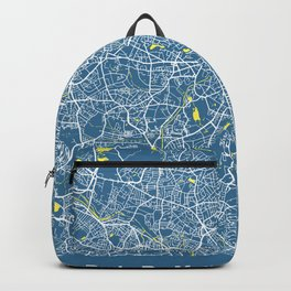BIRMINGHAM Map - England   Blue + Colors, Review My Collections Backpack