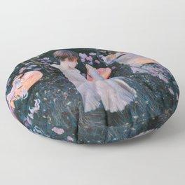Carnation, Lily, Lily, Rose - John Singer Sargent Floor Pillow