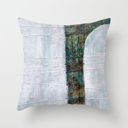 Forest White  Throw Pillow