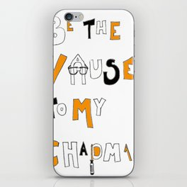 Vause to my Chapman (OITNB) iPhone Skin