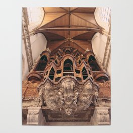 Grand Organ, Oude Kerk Poster
