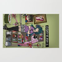 sailormoon Area & Throw Rugs featuring Anime Lover by A+A Noisome Art