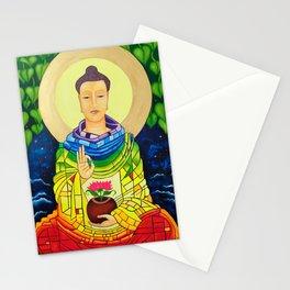 Rainbow Buddha Stationery Cards