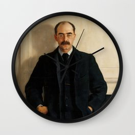 "John Collier ""Rudyard Kipling""(2) Wall Clock"