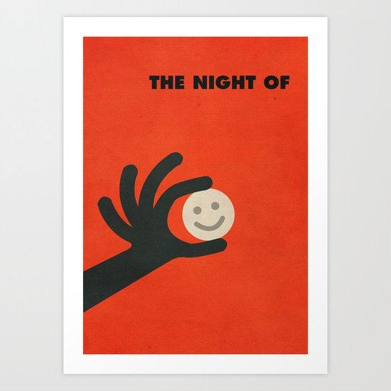 The Night Of Minimalist Poster Art Print