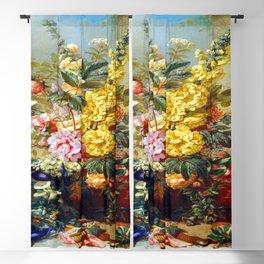 Josep Mirabent Large Vase with Flowers Blackout Curtain
