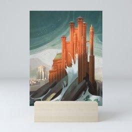 The Red Keep Mini Art Print