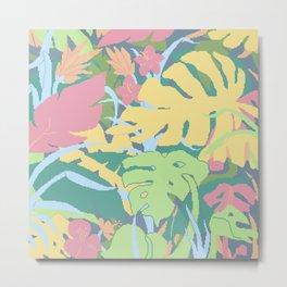 Jungle Flora 1 Metal Print