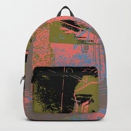 As I walk through the valley of the shadow of death Backpack