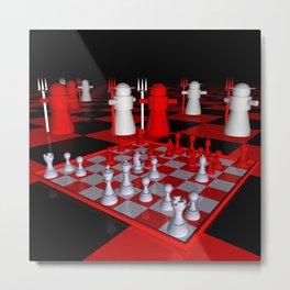 chessworld -c- Metal Print