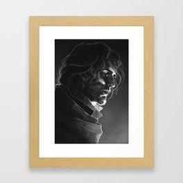 CR: Caleb Framed Art Print