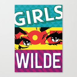 Girls Gone Wilde Canvas Print