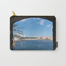 The View To Curacao Carry-All Pouch