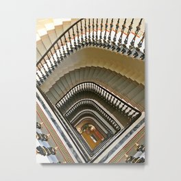 Stairs of the Palace, Lisbon, Portugal Metal Print