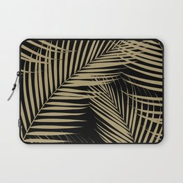 Palm Leaves - Gold Cali Vibes #2 #tropical #decor #art #society6 Laptop Sleeve