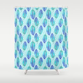 Aqua Marine Shower Curtain
