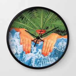 Touch Cold Wall Clock