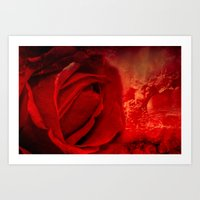 passion Art Prints featuring Passion by Loredana