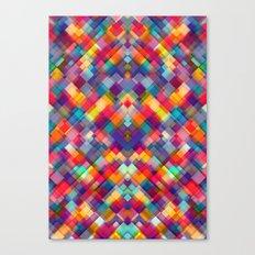 Squares Everywhere Canvas Print