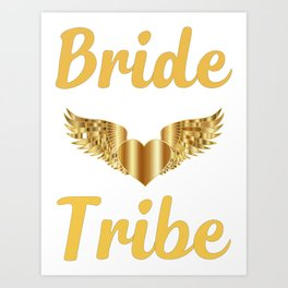 Bride Shirt-Bride Tribe-Personalized T Shirt-Bridal Party shirt-Bachelorette Shirt-Bride Tribe Shirt Art Print