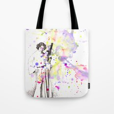 Princess Leia From Star Wars Tote Bag
