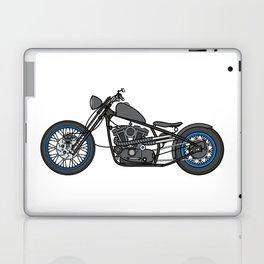 custom motorcycle Laptop & iPad Skin