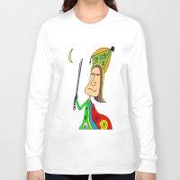 samurai Long Sleeve T-shirts featuring SAMURAI by Joe Pansa