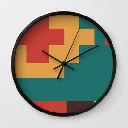 UFOlk 2 Wall Clock