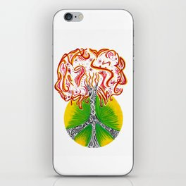 Peace Tree iPhone Skin