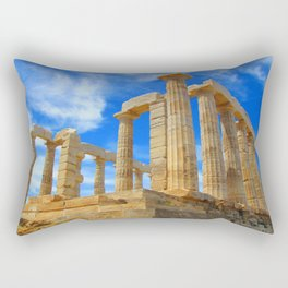 The Temple of Poseidon at Sounion I Rectangular Pillow