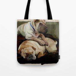 pups Tote Bag