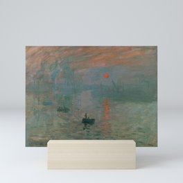 Impression, Sunrise Mini Art Print