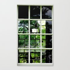 Square Windows Canvas Print