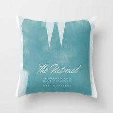 The National - Blue Blazered Throw Pillow