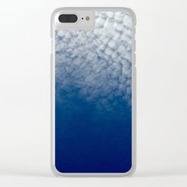 Cloudy Cali Clear iPhone Case