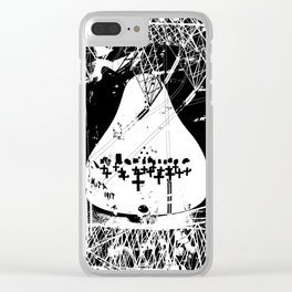 insignificance No.93 Clear iPhone Case
