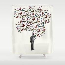 New York City Park Life Shower Curtain