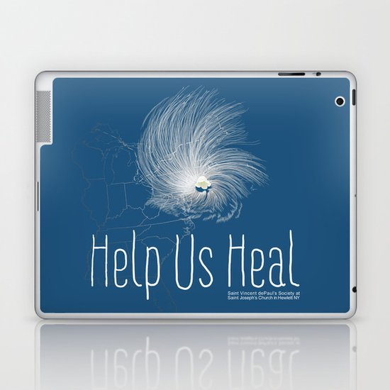 Help Us Heal - Hurricane Sandy Relief Laptop & iPad Skin
