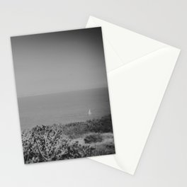 Lone Sailboat Stationery Cards