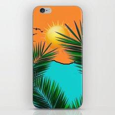 Palm in the sun iPhone & iPod Skin