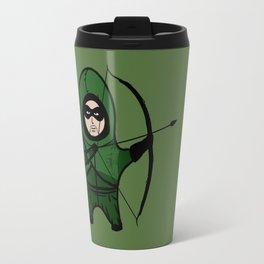 Green Arrow Travel Mug
