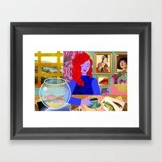 Aquarium Room Framed Art Print