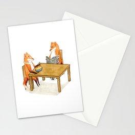 Foxy Dinner Stationery Cards