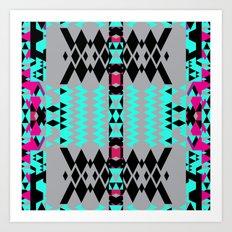 Mix #515 Art Print