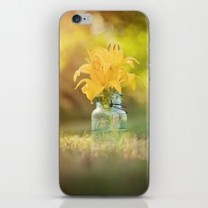 Joyful Yellow iPhone & iPod Skin