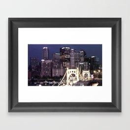 Pttsburgh Skyline Framed Art Print