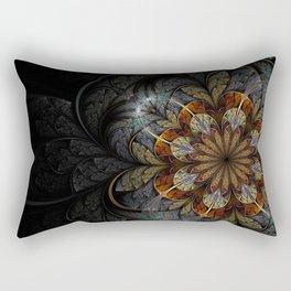 Floral I. Rectangular Pillow