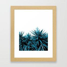 Yucca Trees Framed Art Print