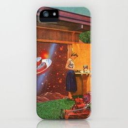 The continued study of Suburban Humanoids [or] the Cosmic Toolshed iPhone Case